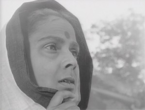 Gita Dey  from a scene in Ritwik Ghatak's Meghe Dhaka Tara